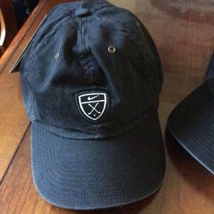 Nike Women's Baseball Hat NWT distressed black
